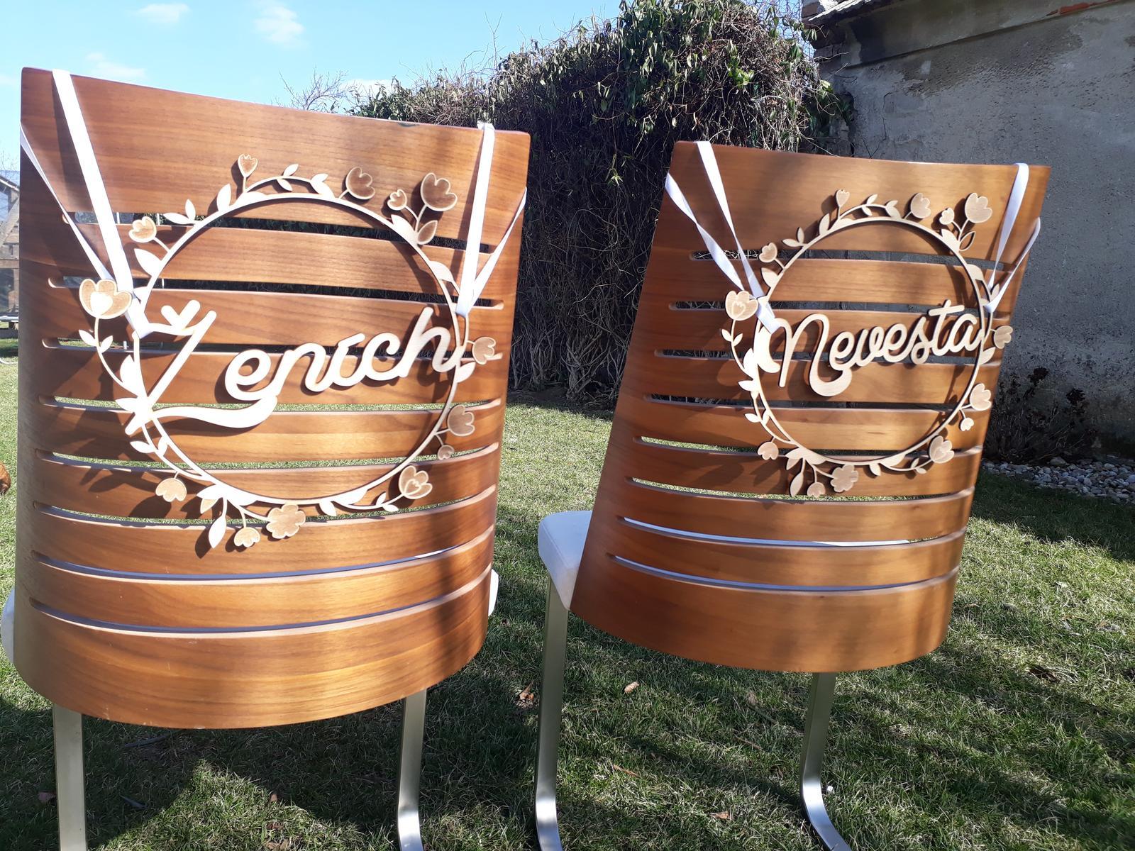 Vyrobíme pre vás nápisy na stoličky - Obrázok č. 7