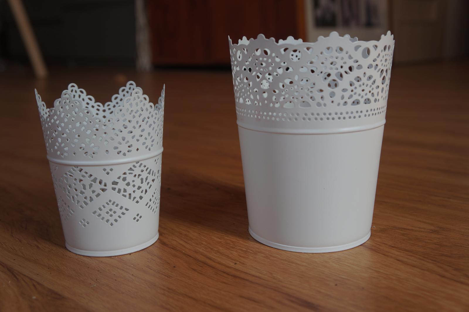 prenájom čipkovaných váz  - Obrázok č. 1