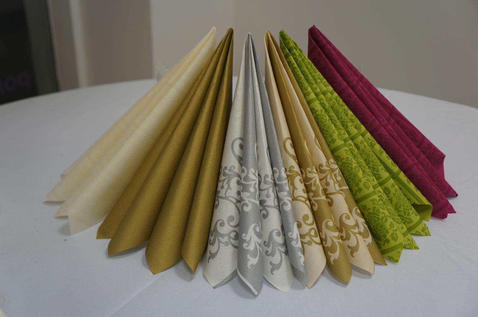Servítky z netkanej textílie - Obrázok č. 1