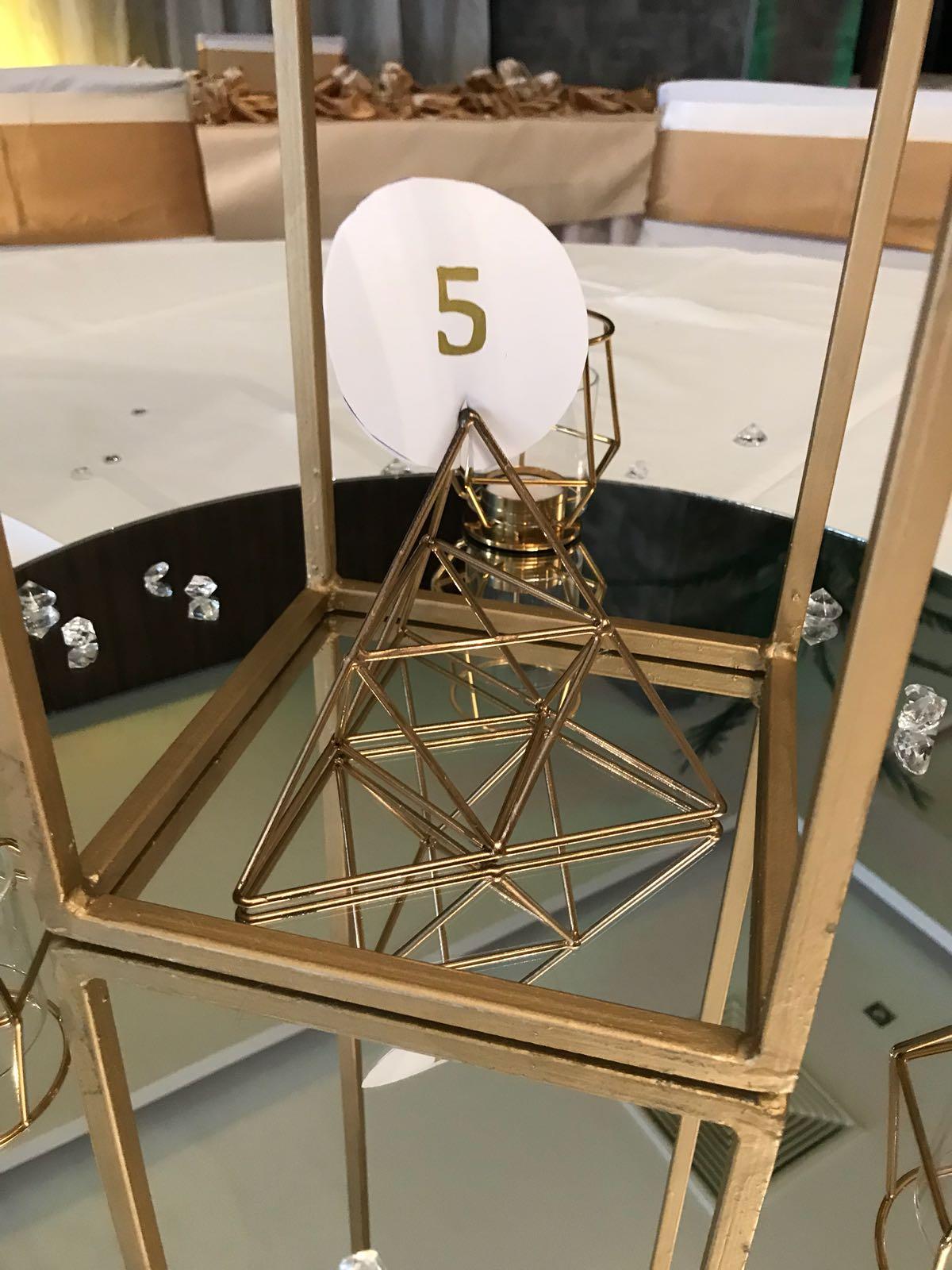 zlate geometricke tvary - Obrázok č. 1