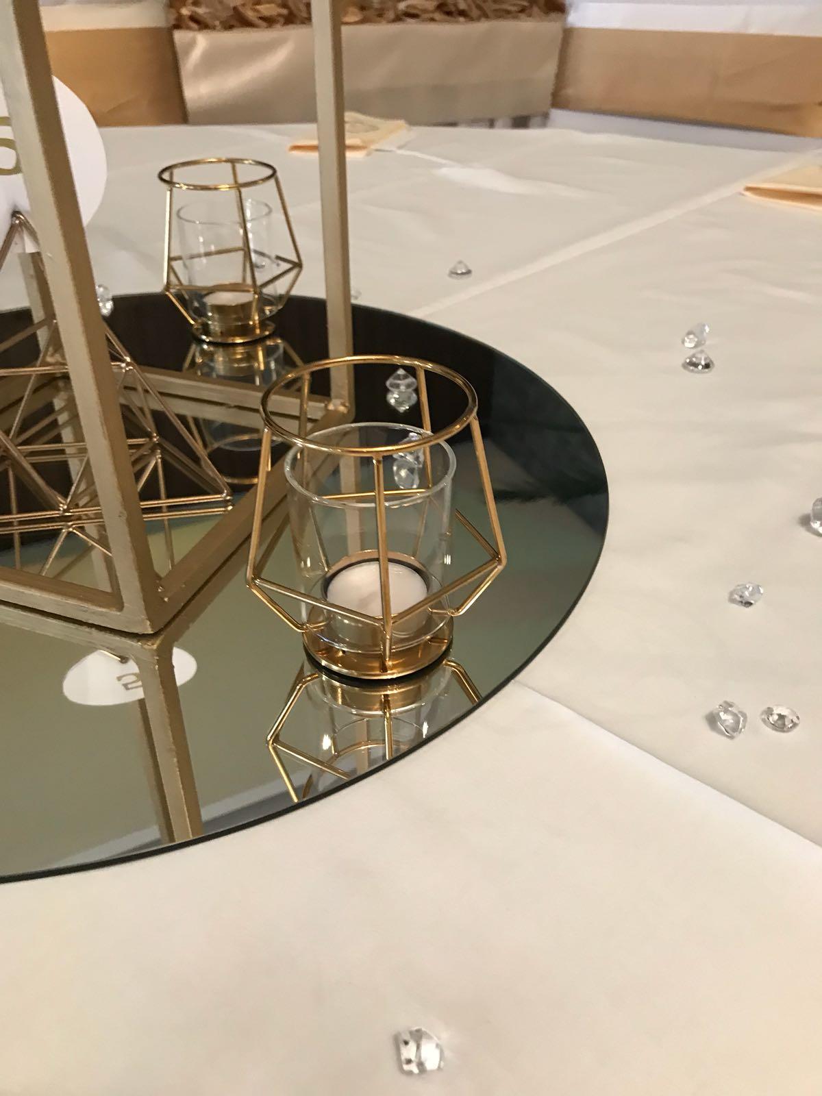 zlate geometricke tvary - Obrázok č. 2