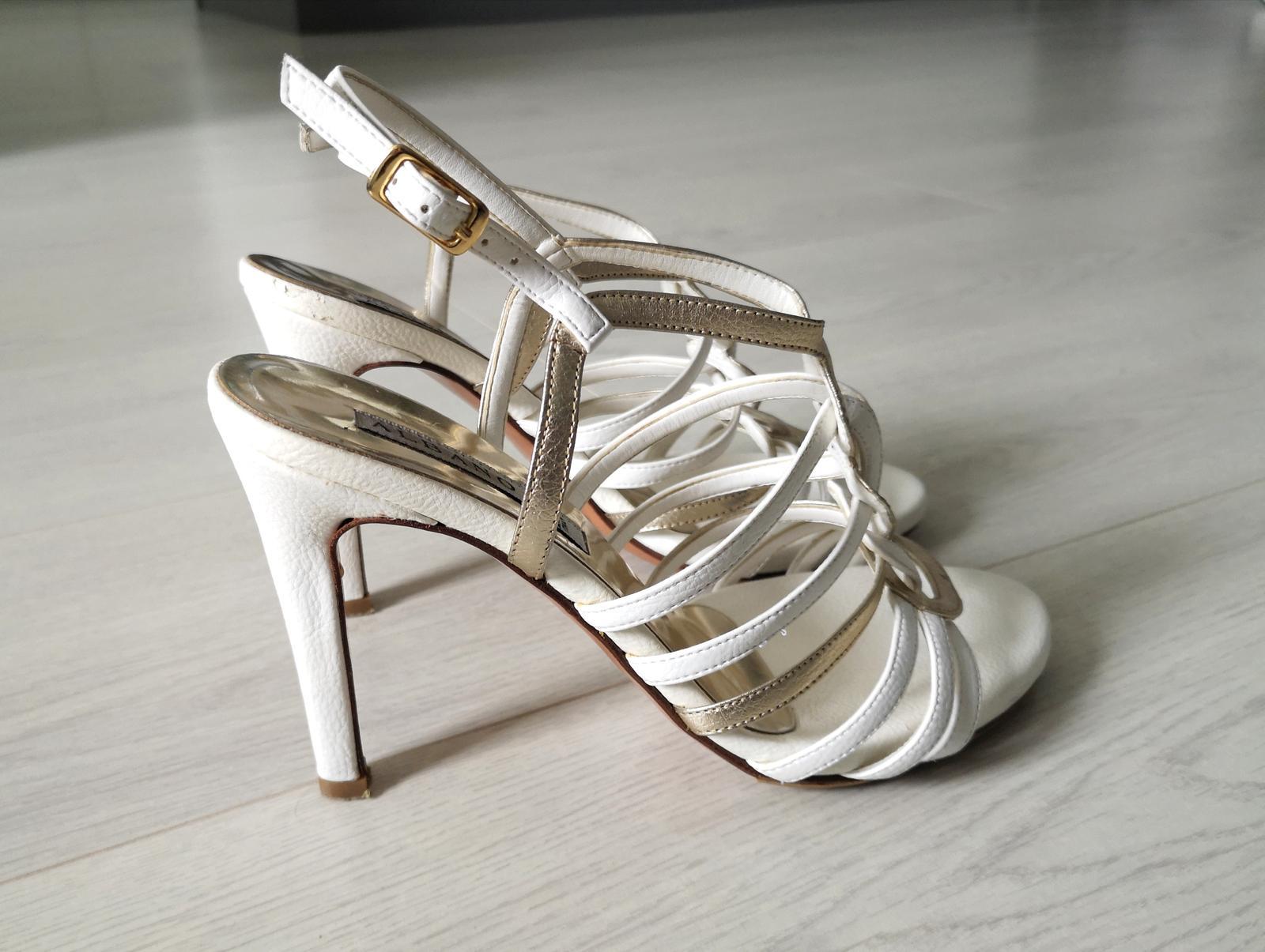 Svadobne sandale - Obrázok č. 3