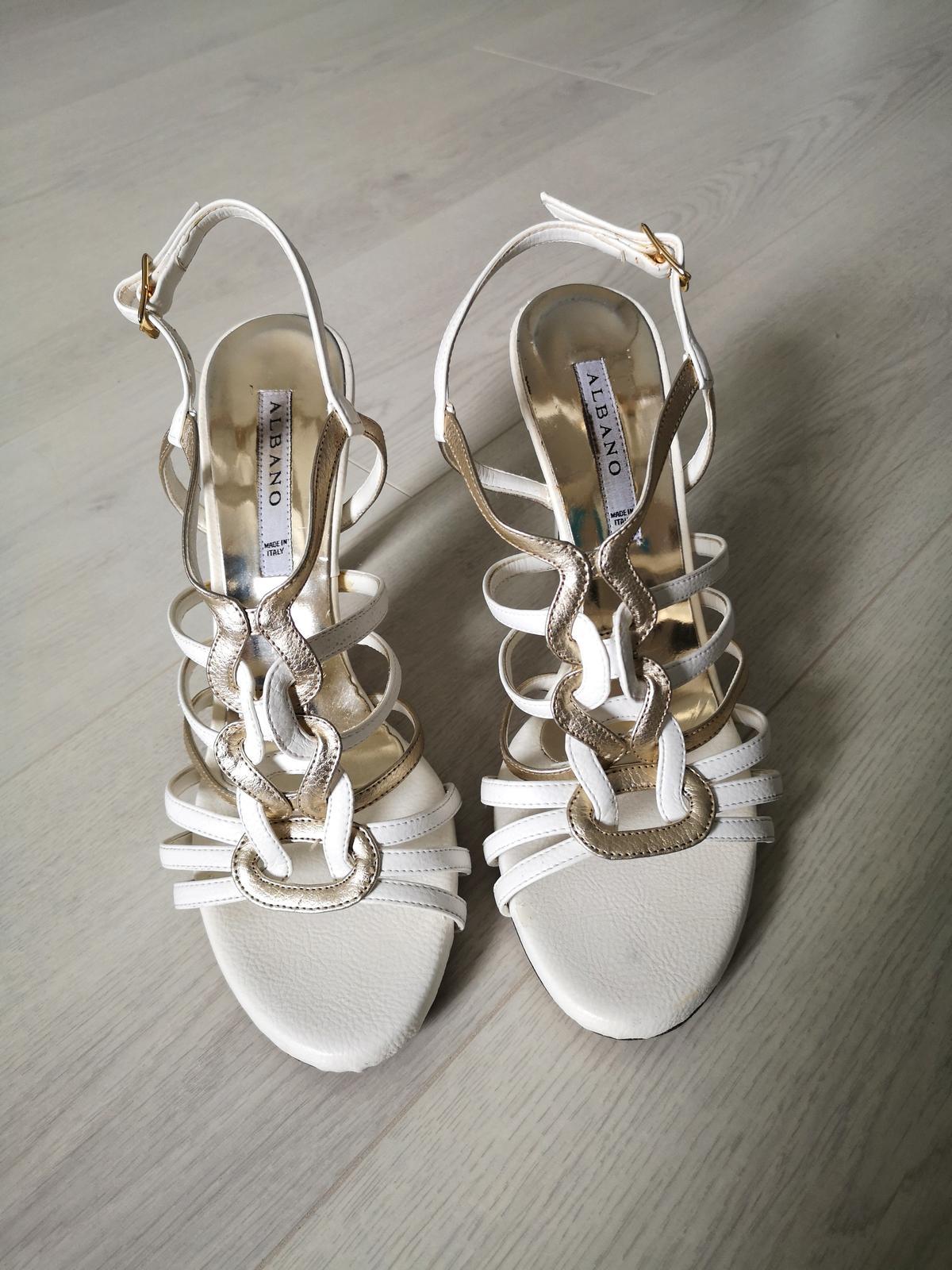 Svadobne sandale - Obrázok č. 4