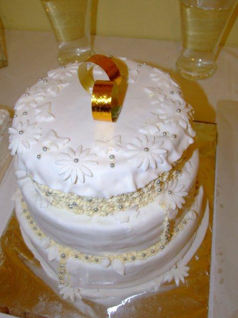 Tereza Koubova{{_AND_}}Vladimir Michalec - svadobna torta
