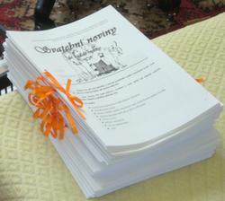 komplet svatební noviny .... 24 ks