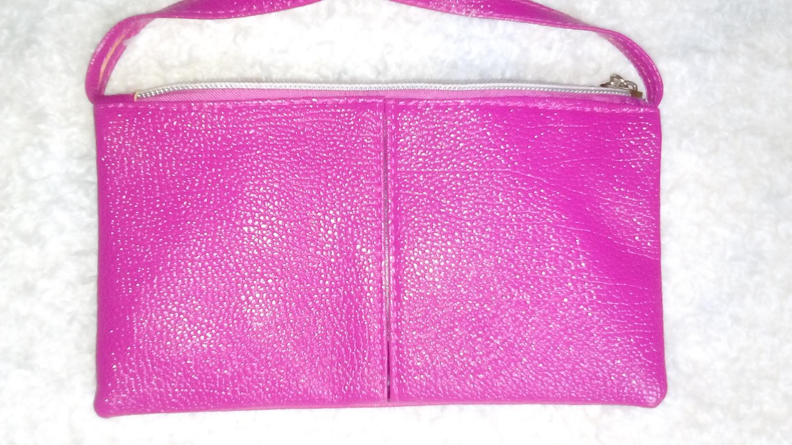 Ružová kabelka nenosená - Obrázok č. 1