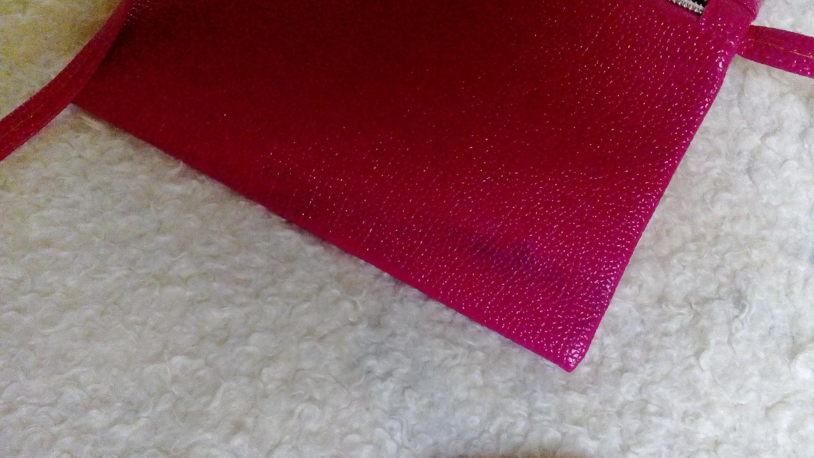 Ružová kabelka nenosená - Obrázok č. 4