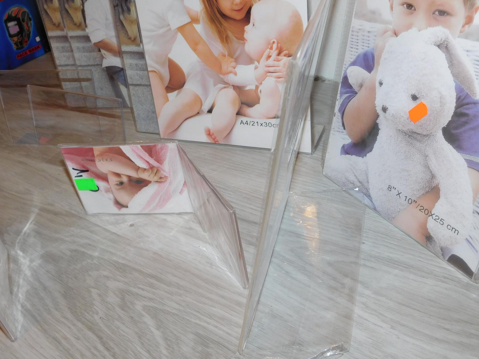 plastové fotorámy rôzne rozmery - Obrázok č. 4