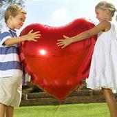 foliove srdce,
