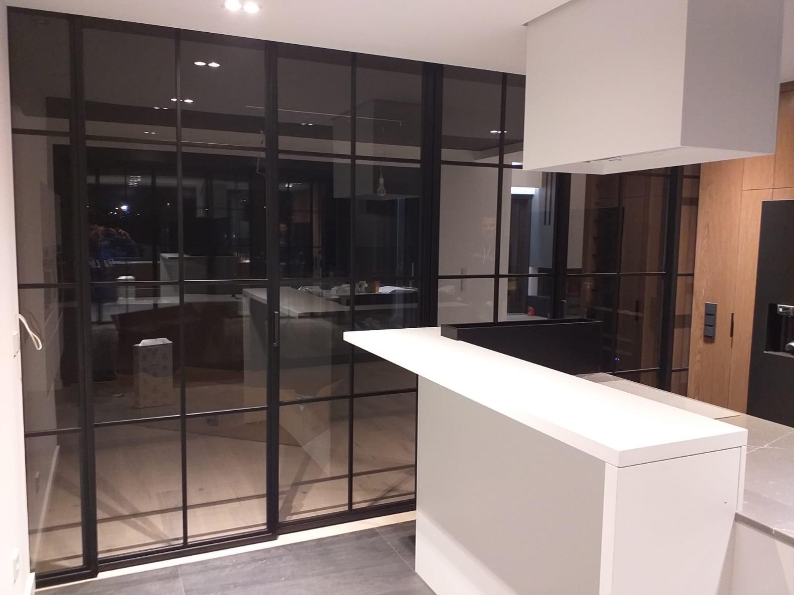 Niekde v Poľsku :) vyrábame také dvere v ráme - Obrázok č. 1