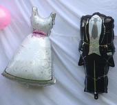 fialová svatební dekorace / výzdoba,