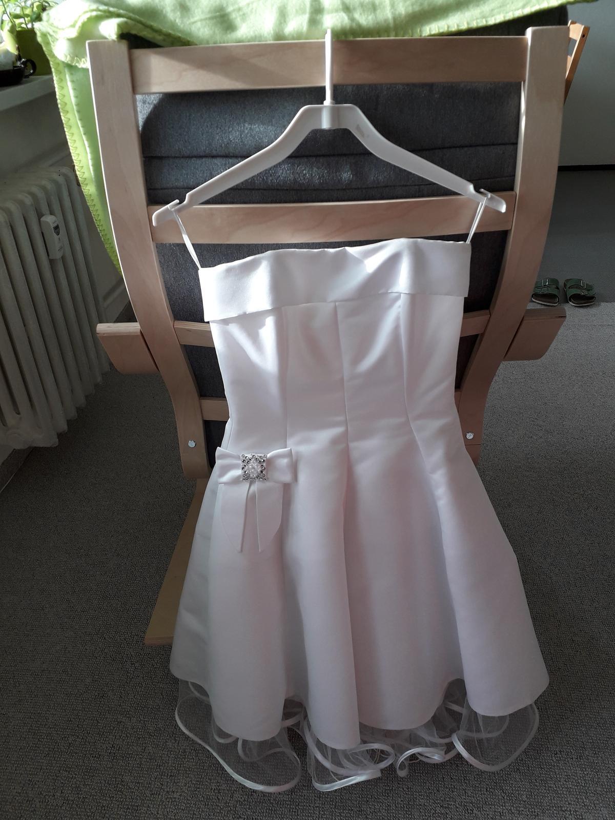 Svatební šaty retro krátké - Obrázek č. 1