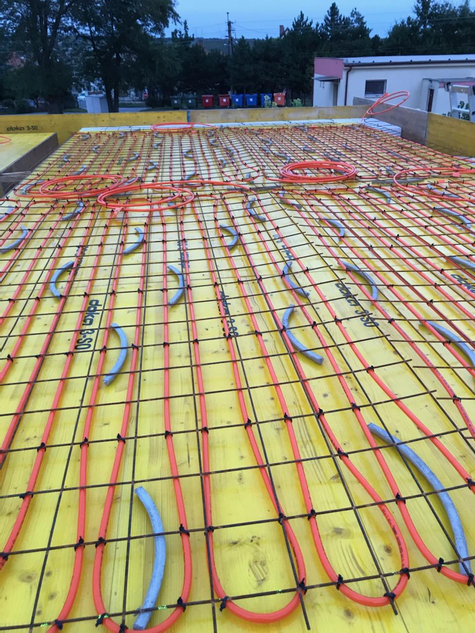 naša stodola - stropné chladenie