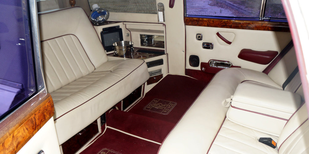 autonasvadbu - Rolls Royce interiér
