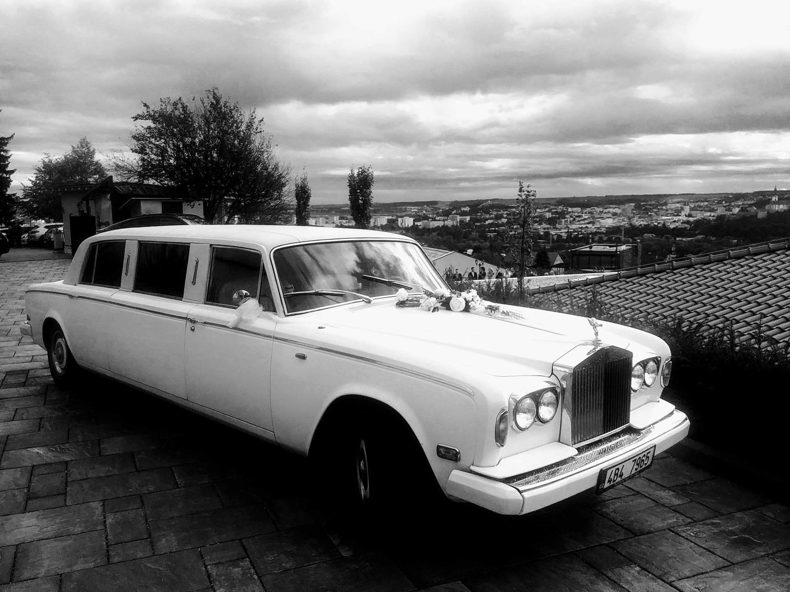 Rolls Royce svadba v Nitre - Výhľad na Nitru