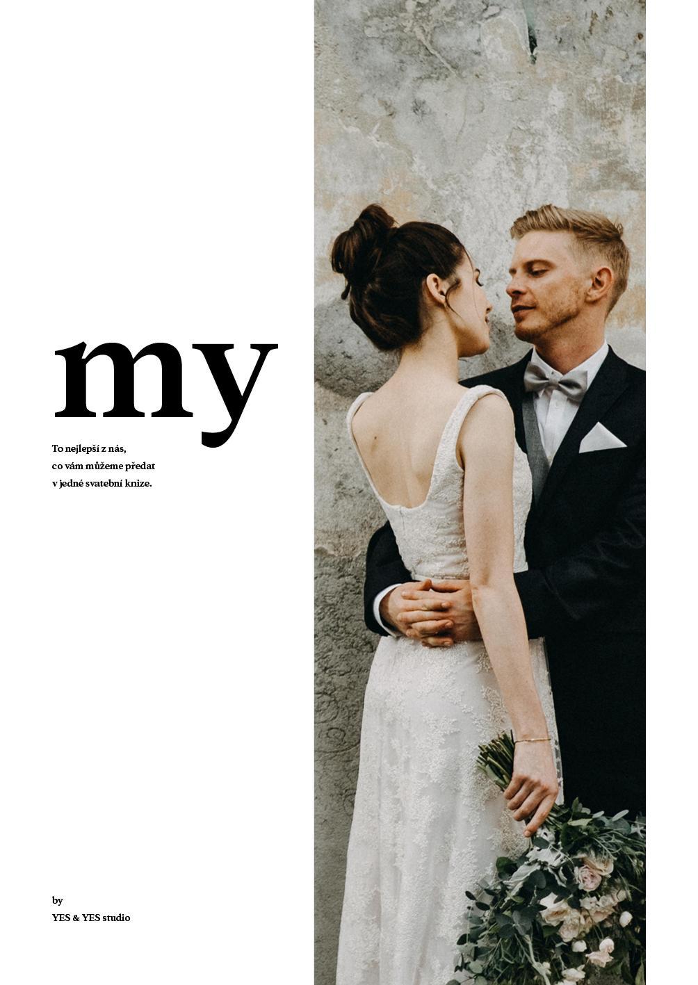 Svatební elektronická kniha MY - Obrázek č. 1