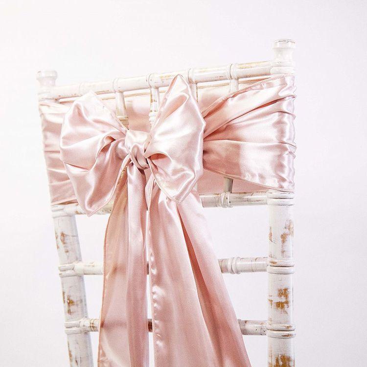 Rose gold stuha na stoličky (predaj/prenájom) - Obrázok č. 1