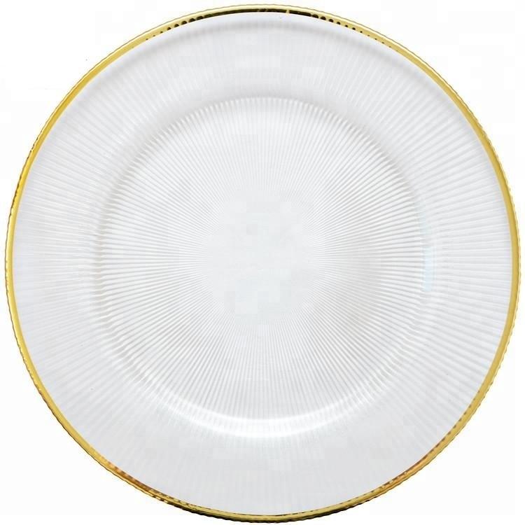 Klubový tanier so zlatým lemom - Obrázok č. 1