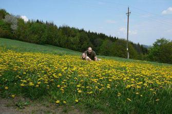 1.5.2008 jsme začali prozkoumávat okolní terén:))