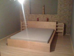 hotová ložnice..