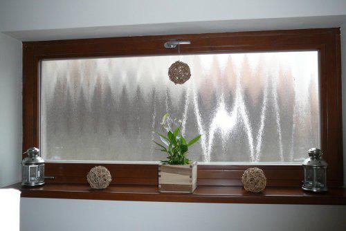Pokračování našeho stavebního úsilí :)) - okno v obýváku..