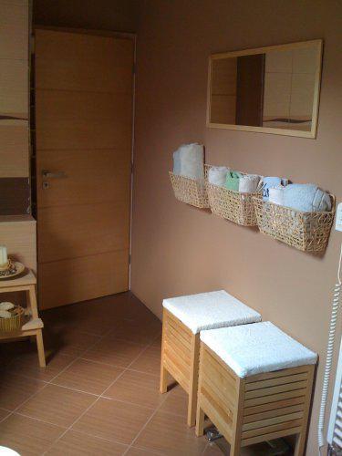 Pokračování našeho stavebního úsilí :)) - Změnila jsem pár věcí v horní koupelně