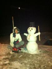 Sněhulák musí být!