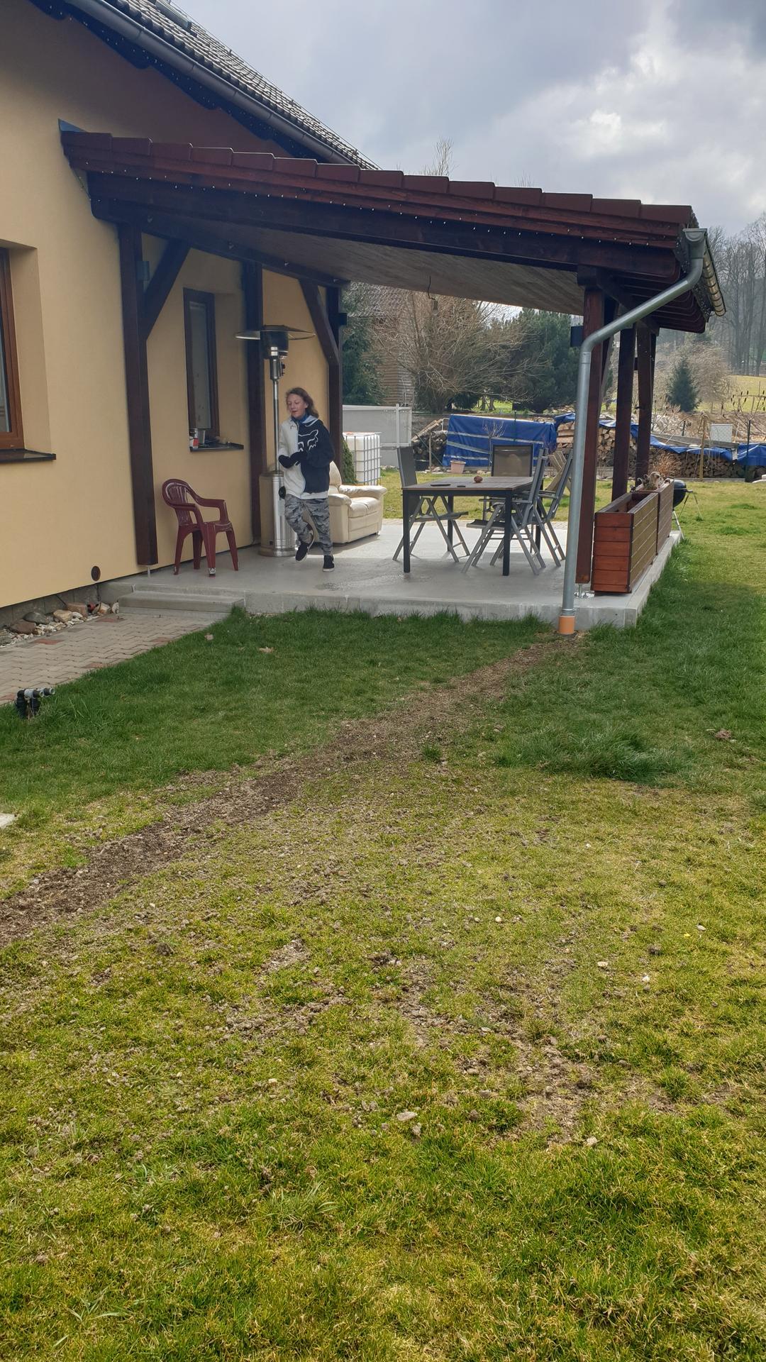 Pergola + zimní zahrada + zahrada - Obrázek č. 7