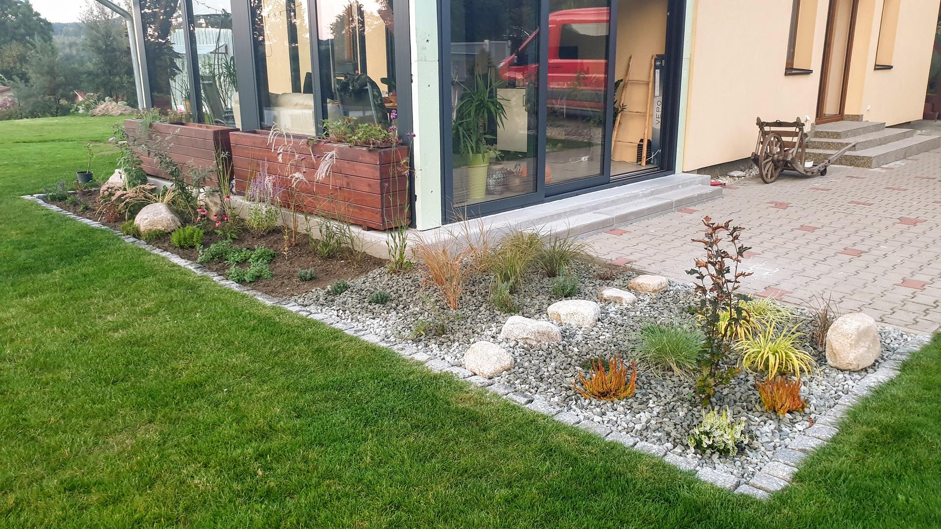 Pergola + zimní zahrada + zahrada - Obrázek č. 16