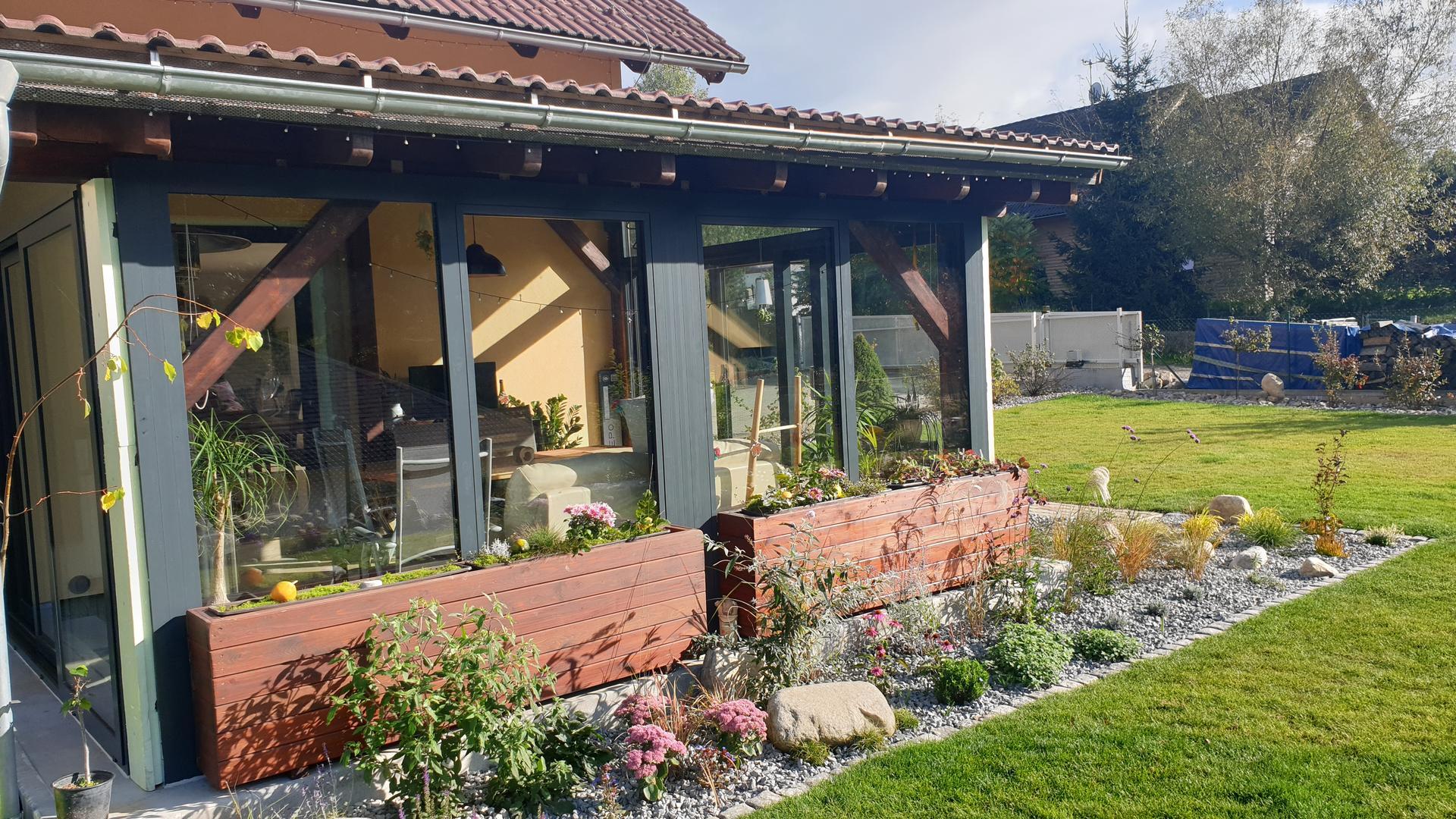 Pergola + zimní zahrada + zahrada - Obrázek č. 20