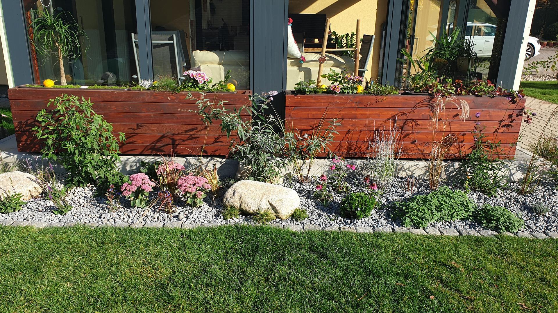 Pergola + zimní zahrada + zahrada - Obrázek č. 21