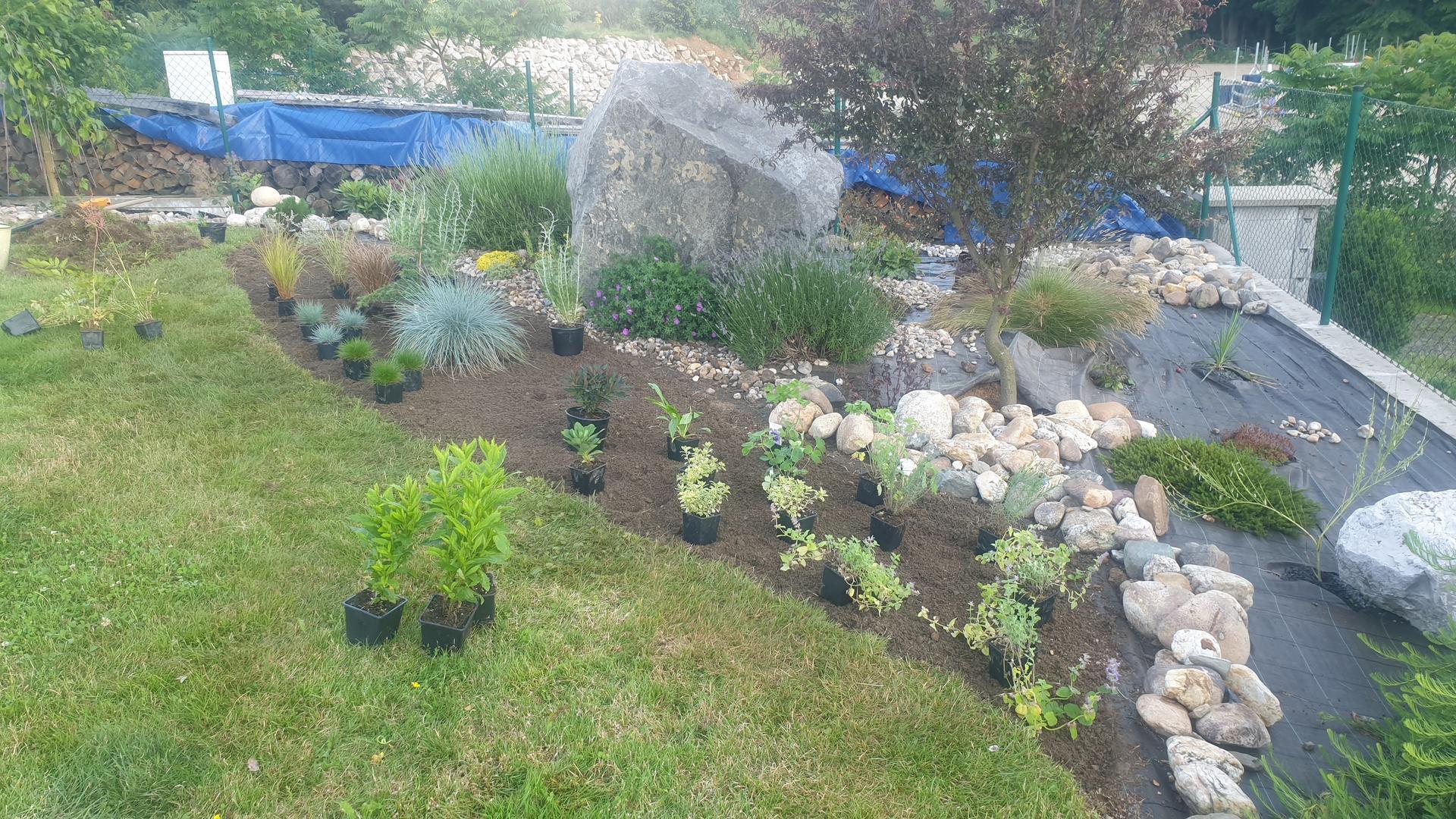 Pergola + zimní zahrada + zahrada - Obrázek č. 23