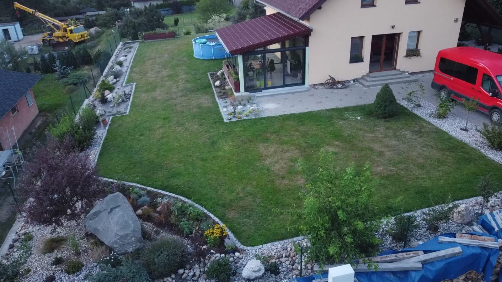 Pergola + zimní zahrada + zahrada - Obrázek č. 26
