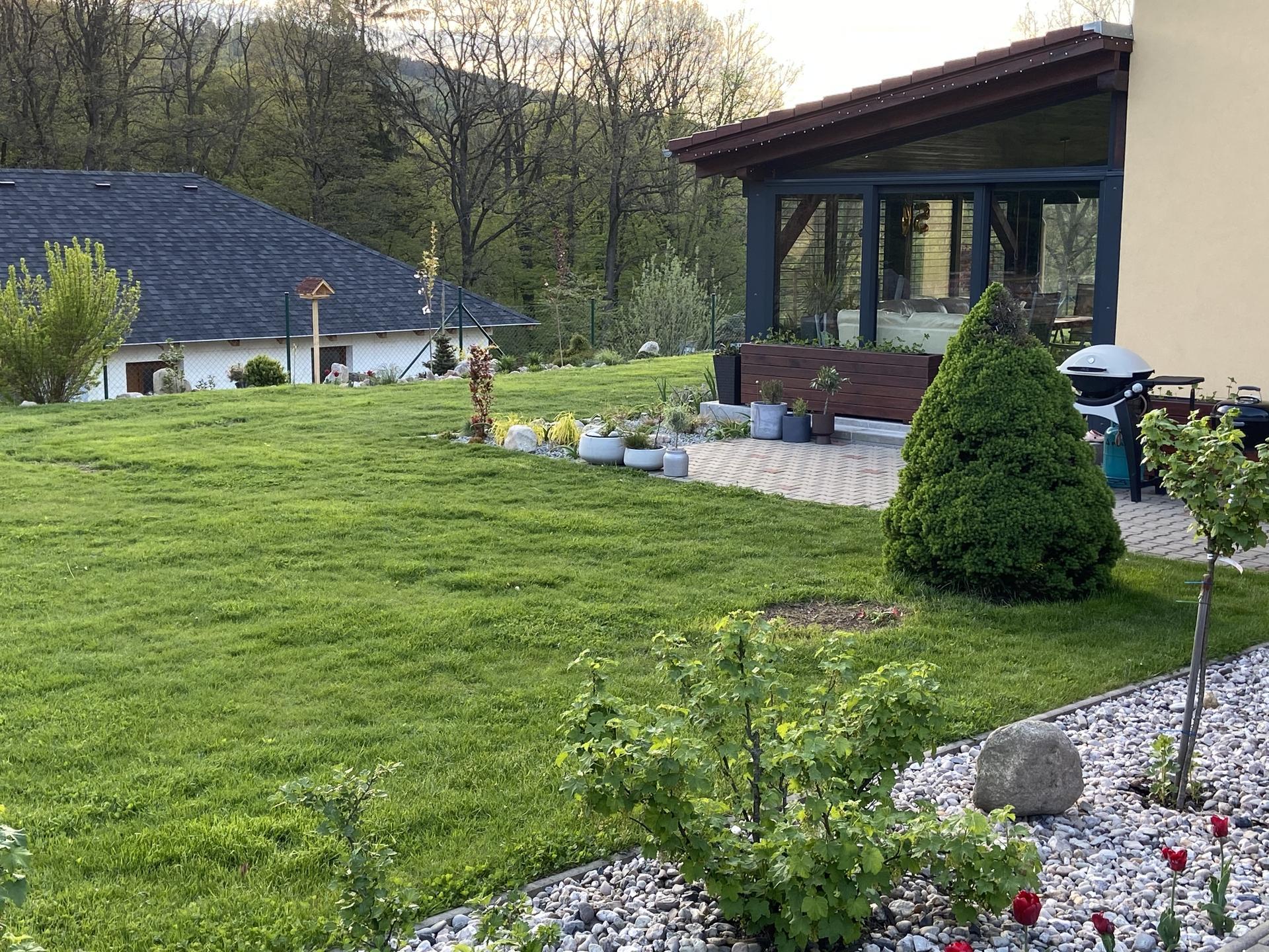 Pergola + zimní zahrada + zahrada - Obrázek č. 78