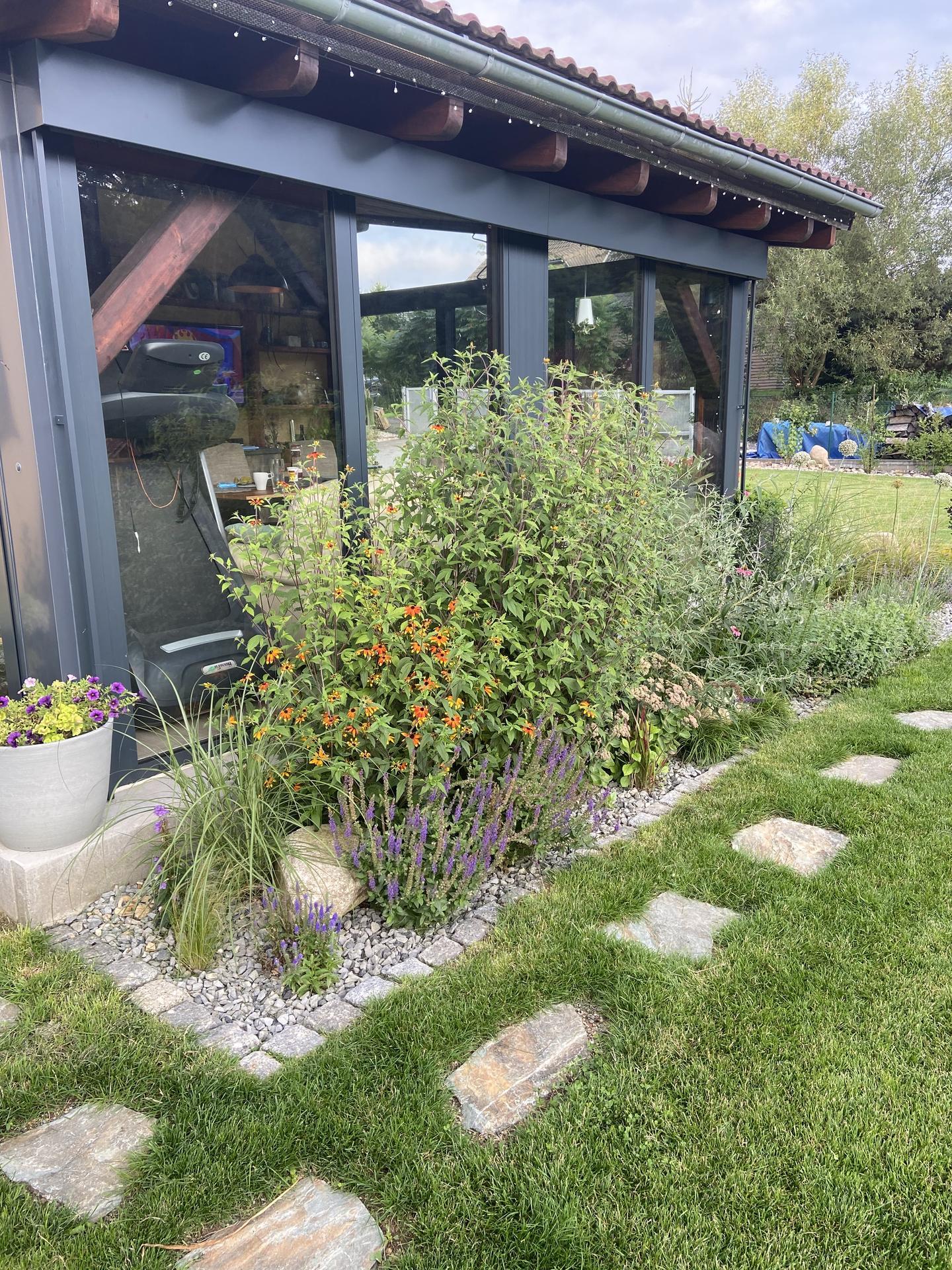 Pergola + zimní zahrada + zahrada - Obrázek č. 209