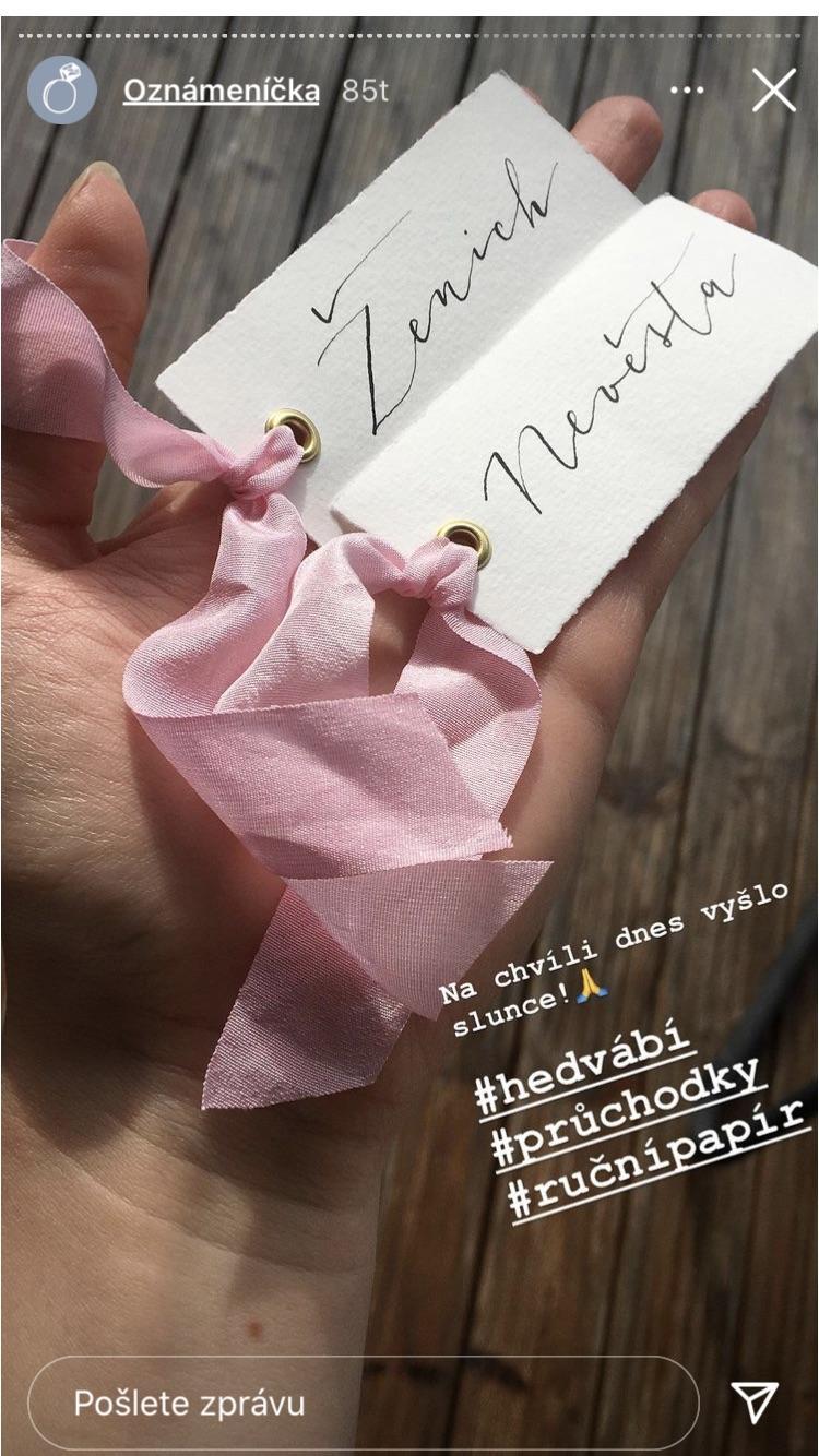 Inspirace - @malovanna  Nádherná inspirace na pozvánky a jmenovky, paní je i přímo vyrábí, krásná práce :)