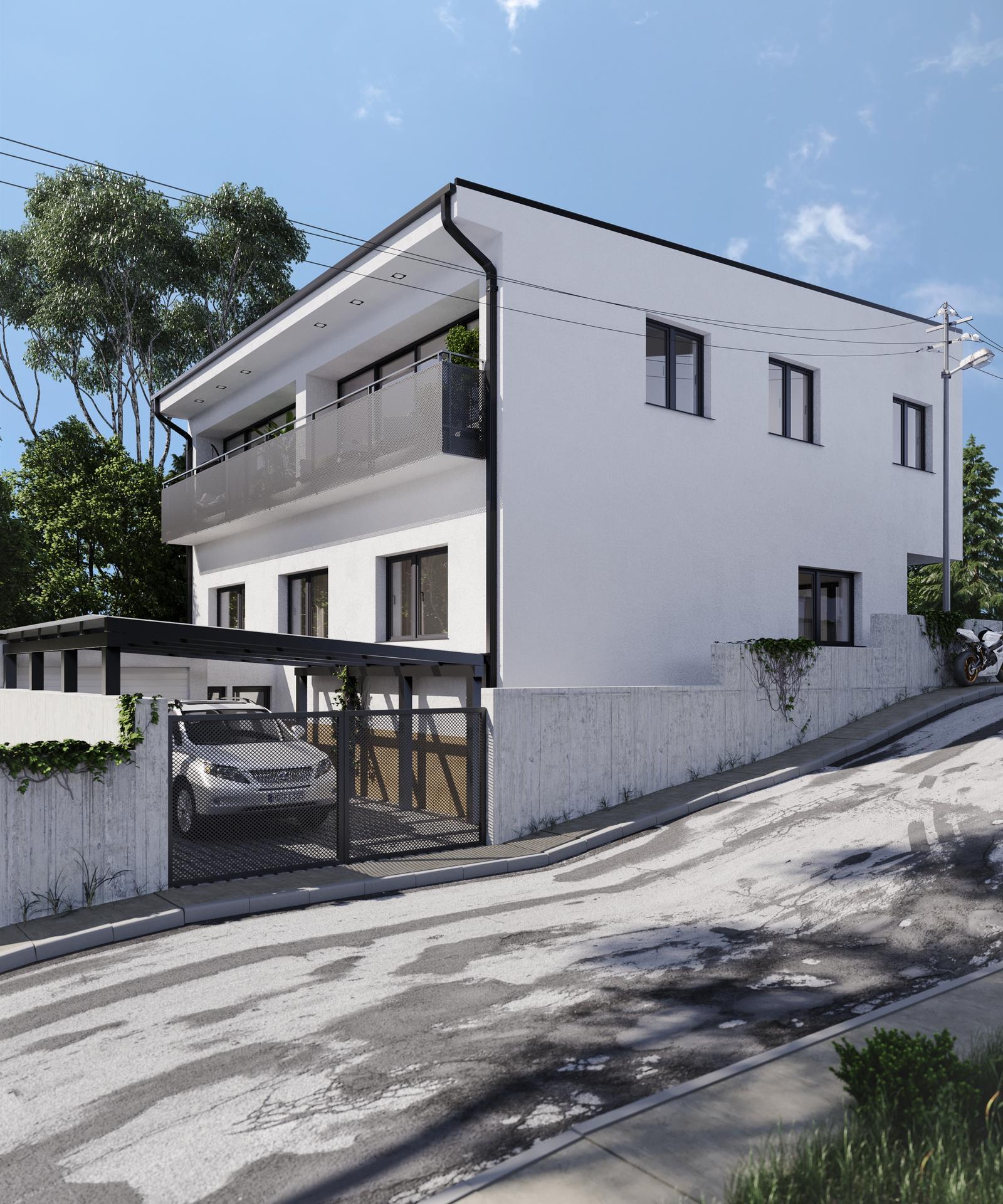 Prestavba podkrovia zo sedlovo valbovej na sedlovú strechu. - Predošlý projekt...Krok vedla čo nás stálo   - 6000 euro.