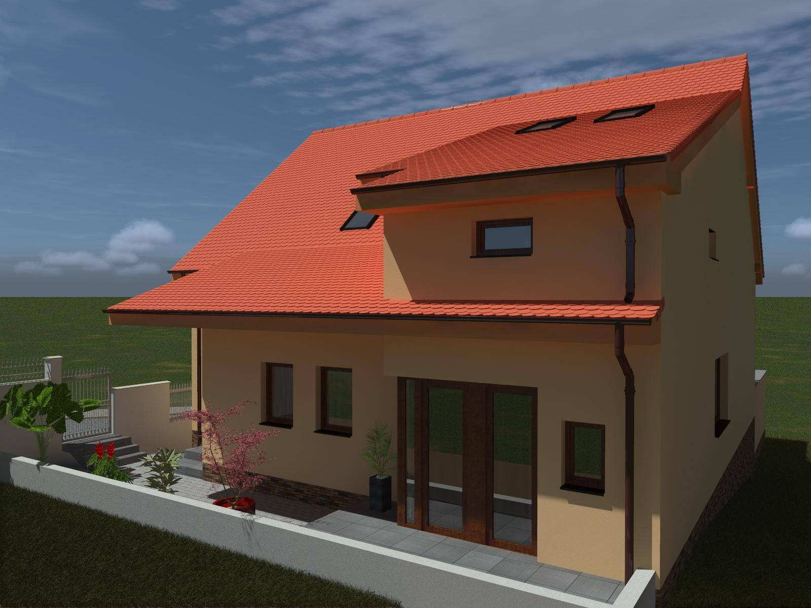 Prestavba podkrovia zo sedlovo valbovej na sedlovú strechu. - Obrázok č. 15