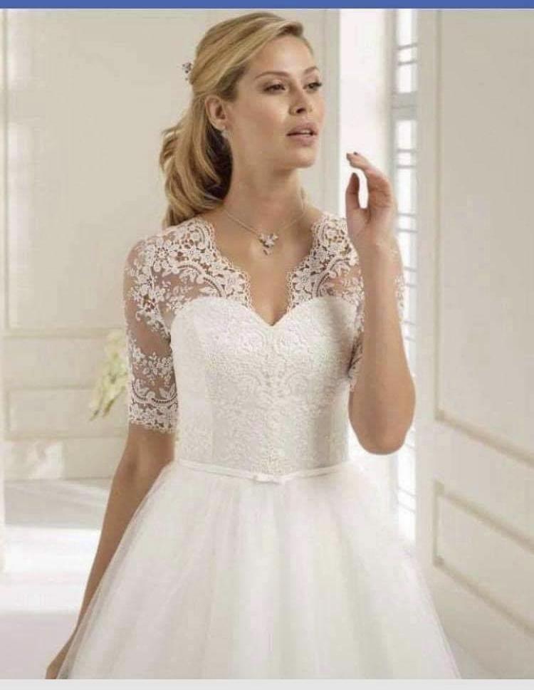 Svatební šaty vel. 42 - Obrázek č. 1
