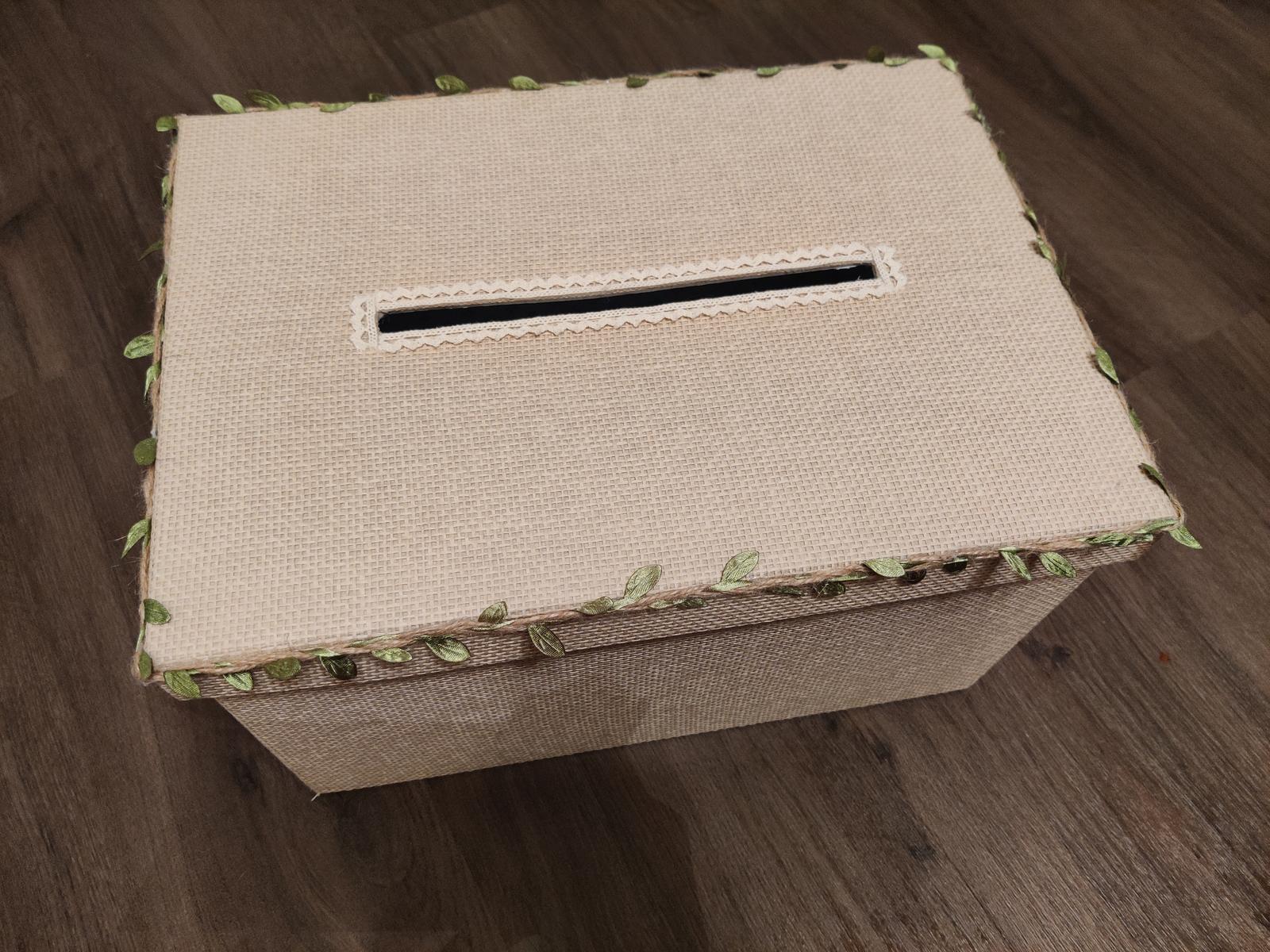Krabice na přání a dary - Obrázek č. 1