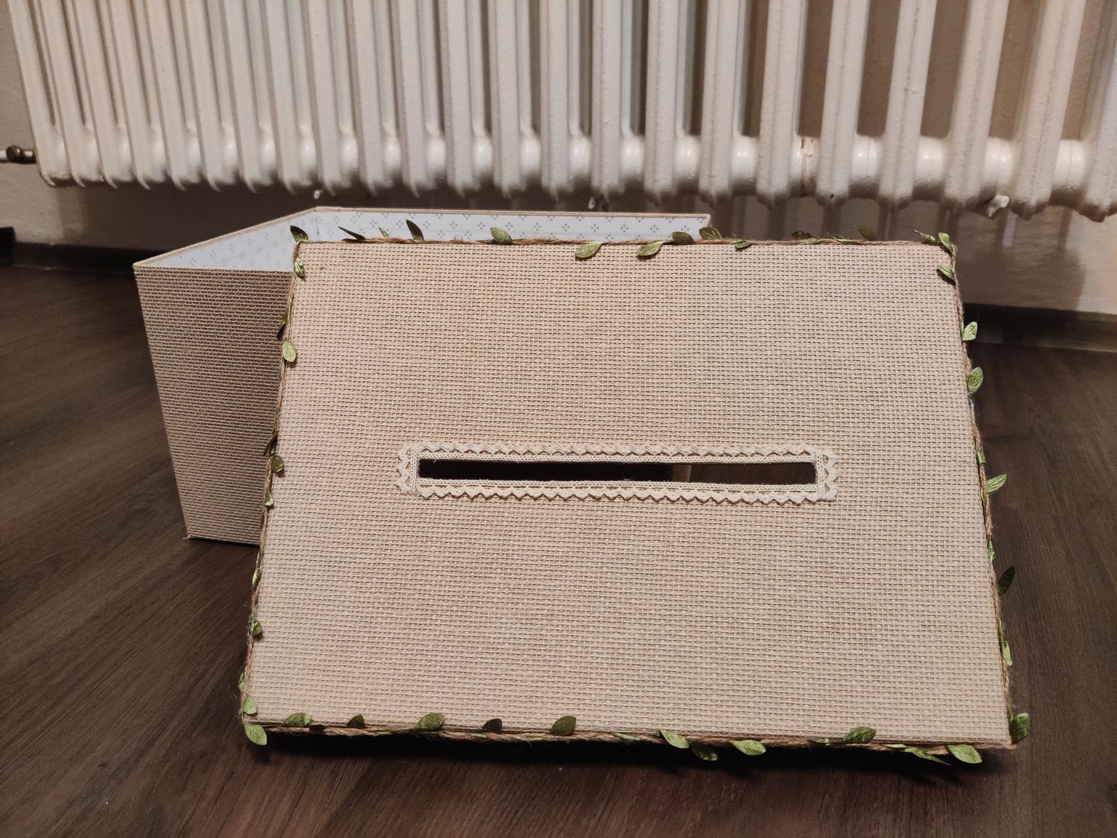 Krabice na přání a dary - Obrázek č. 3