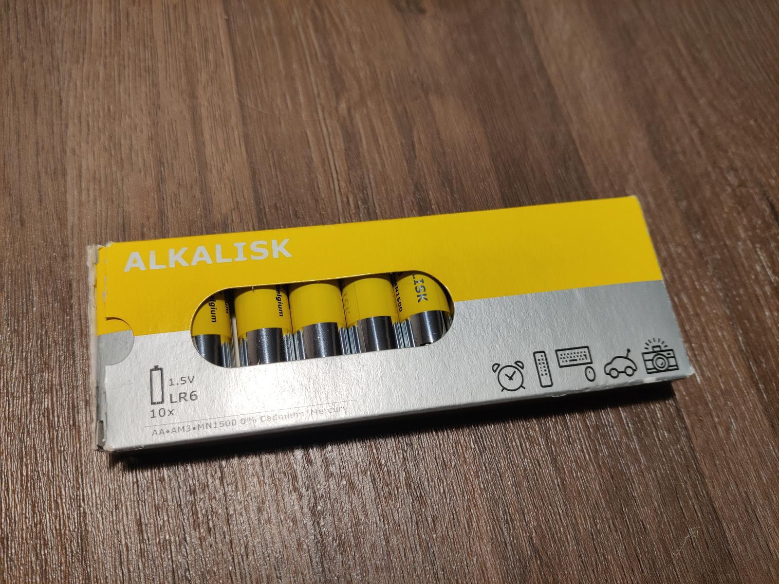 Alkalické baterie - Obrázek č. 1