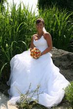 Já jako šťastná nevěsta.