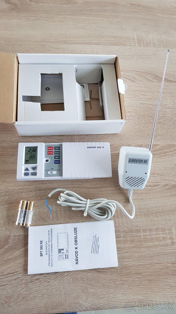 Bezdrôtový regulátor teploty BPT 093RX - Obrázok č. 1