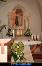 vyzdoba kostolika - skvela Monika