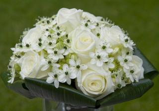 nevěsty kytička