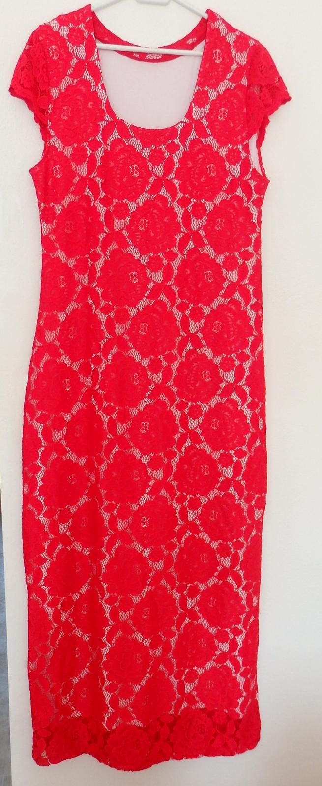 Nádherné čipkované šaty - Obrázok č. 1