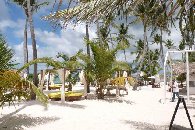 Věra Šebková{{_AND_}}Ladislav Koutský - tak to je to naše místečko Bamboo beach v v Punta Cana v Dominikánské republice