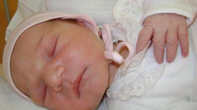 Danielka sa narodila 14.12.2009