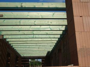drevenné stropy